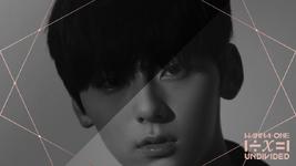 Wanna One Hwang Min Hyun 1÷x=1 (Undivided) promo photo