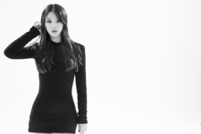 CLC Seunghee Black Dress promo photo