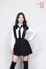 MIXNINE Park Sumin promo photo
