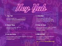 GOT7 Hey Yah tracklist