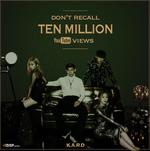 K.A.R.D Don't Recall hits 10 million views