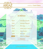 ARIAZ Grand Opera timetable