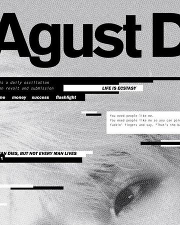 Agust D Album Kpop Wiki Fandom