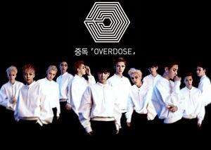 Imagen promocional de EXO para 'Overdose'