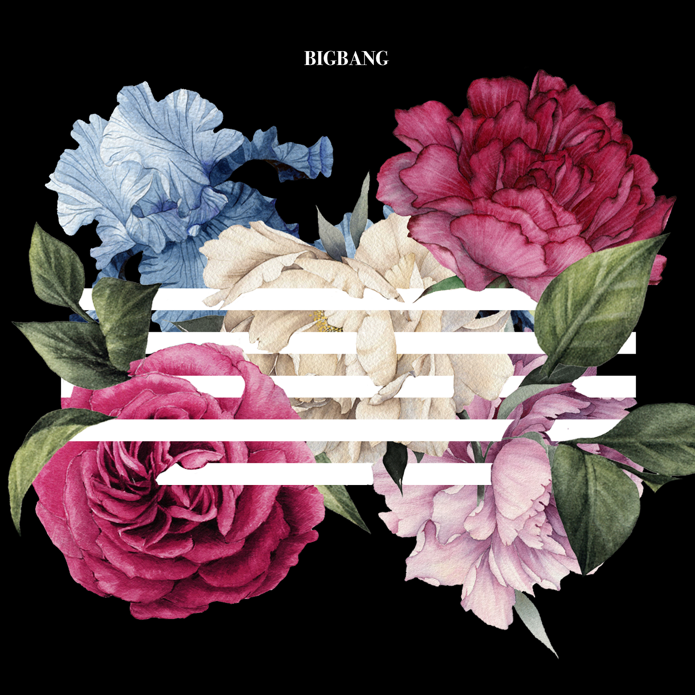 Bigbang flower road album cover png