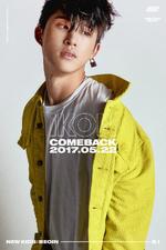 IKON B.I New Kids Begin promo photo
