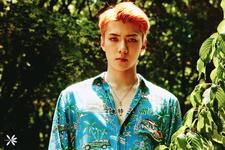 EXO Sehun The War promotional photo