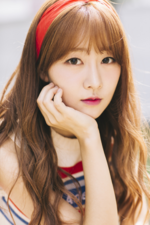 LABOUM Yujeong Love Sign promotional photo