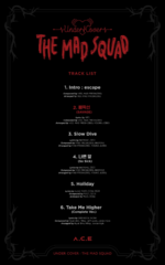 A.C.E Under Cover The Mad Squad track list