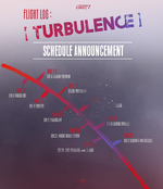 GOT7 Flight Log Turbulence schedule