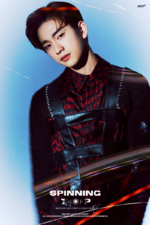 GOT7 Jinyoung Spinning Top Between Security & Insecurity concept photo 3