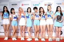 MOMOLAND Brand of the Year Korea 2018 red carpet photo