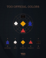 TOO official colors