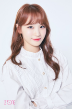 IZONE Kim Chae Won official profile photo