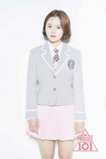 Produce 101 Lim Hyo Sun promo photo (3)