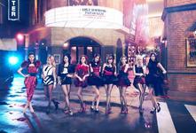 Girls' Generation Paparazzi promotional photo