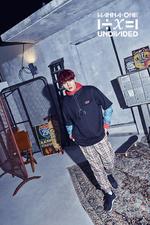 Wanna One Ha Sung Woon Light promo photo 2