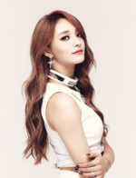 I.O.I Jieqiong Whatta Man promo photo
