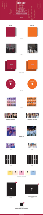 AB6IX 6ixense album packaging