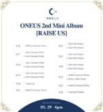 ONEUS Raise Us scheduler