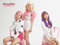 DreamNote Dream us unit concept photo (Miso, Lara & Hanbyeol) (Cheerful ver.)