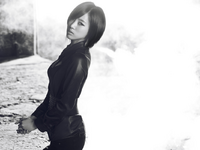 T-ARA Eunjung Black Eyes concept photo