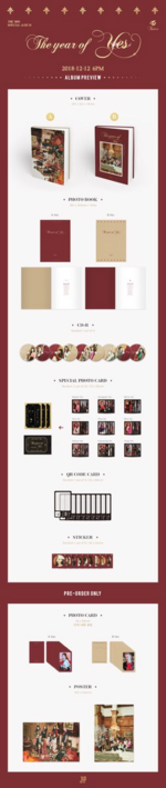 TWICE The Year of Yes album preview 2