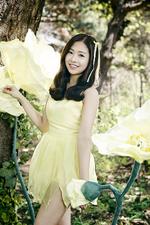 April Chaewon Spring promotional photo