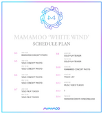 MAMAMO White Wind schedule