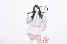 Produce 101 Kim Yunji promo photo 2