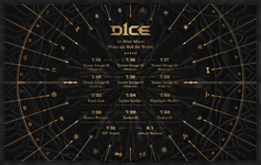 D1CE Wake Up Roll the World debut scheduler (new)