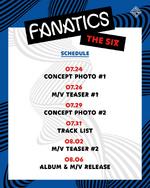 FANATICS The Six schedule