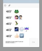 PENTAGON Thumbs Up! track list (emoji ver.)