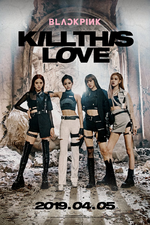BLACKPINK Kill This Love teaser poster