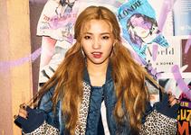 Jeon Soyeon Jelly promotional photo