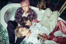 Jin, Suga and Jimin WINGS concept photo