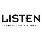 LISTEN by MYSTIC Entertainment logo