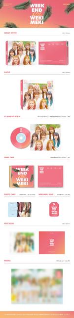 Weki Meki Week End LOL album packaging preview