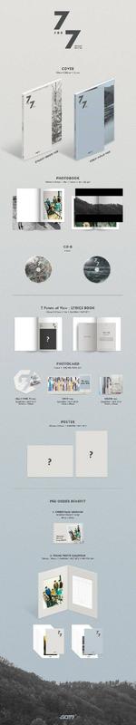 GOT7 7 for 7 Present Edition album preview