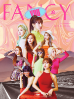 TWICE Fancy You group teaser poster 1