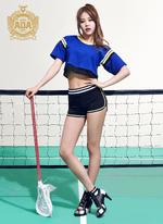 AOA Hyejeong Heart Attack photo