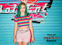 MOMOLAND Nancy Fun To The World promo photo