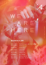 MONSTA X Take.2 We Are Here scheduler