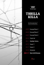 VAV Thrilla Kila schedule