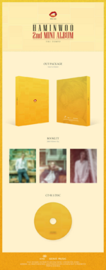 Ha Min Woo The Tempo album packaging