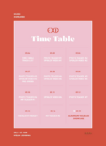 EXID Me & You time table