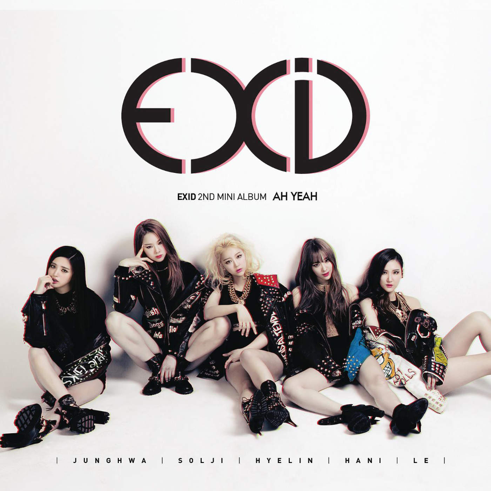 Image result for exid ah yeah cover
