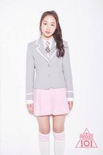 Kim Si Hyeon Produce 101 profile photo