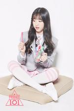 Produce 101 Lim Jeongmin promotional photo (2)