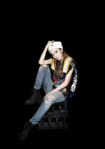 2NE1 Dara Crush promotional photo